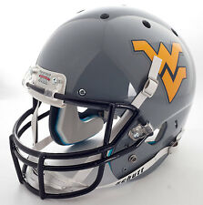 WEST VIRGINIA MOUNTAINEERS Schutt AiR XP REPLICA Football Helmet WVU (GRAY)