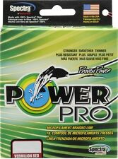 POWER PRO BRAIDED LINE POWERPRO / POWER PRO VERMILION RED 20LB-150YD