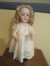 Beautiful Antique Schoenau Hoffmeister Toddler Doll-Paper Weight Eyes