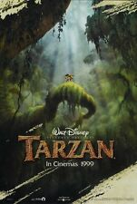 TARZAN MOVIE POSTER 2 Sided ORIGINAL Advance INTL 27x40