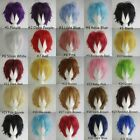 HOT SELLING!!! Fashion Straight Short Full Wigs Cosplay Party Hair Wigs boy&girl