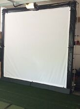 Ultimate Golf/ Home Theater HD Impact Screen Frame 10 X10* TRIPLE LAYER**