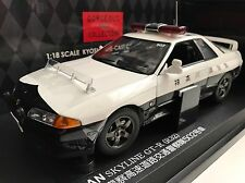 KYOSHO 1/18 08366A NISSAN SKYLINE GT-R PATROL CAR 502 GORGEOUR COLLECTION RARE !