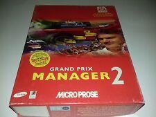 GRAND PRIX MANAGER 2 - PC GAME - ORIGINAL RARE BIG BOX 003-007