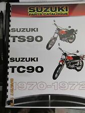 Suzuki TC90,TS90  1970-1972   parts manual / Catalogue