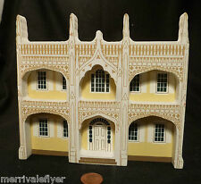 WOOD HOUSE MODEL Wedding Cake House Kennebunkport Maine Me FOLK ART signed