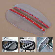 2 x Car Rear View Side Mirror Rain Snow Board Sun Visor Shade Shield Universal