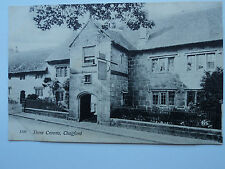 Chapman & Son, Dawlish vintage B&W PC Three Crowns, Chagford, Devon. 1914. Pub.