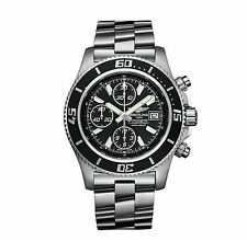 BREITLING Superocean Chronograph II Gents Watch A1334102/BA84/134A RRP £4570 NEW