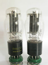 PAIR 1956 Sylvania 6L6GA Power Amp tubes - Hickok TV-7B tested @32, 36, min:25