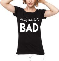 Andy Warhol's Bad Women's Fit T-shirt - 1977 Film, Punk, Pop Art, All Sizes