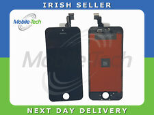 IPHONE 5c BLACK LCD TOUCH SCREEN DISPLAY DIGITIZER GLASS ASSEMBLY WITH FRAME