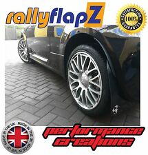 Parafanghi FIAT 500 ABARTH Dal 2008 in poi rallyflapZ Nero 'Scorp' White4mm PVC