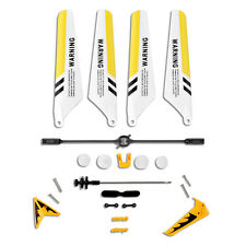 Full Replacement Parts Set Spare Pack Kits for Syma S107G RC Helicopter Yellow