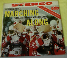 Marching Along, Eastman Wind Ensemble, Vintage LP 12""
