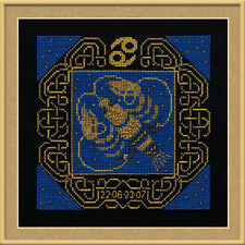 Zodiac Sign Cancer Cross Stitch Kit - Riolis - (R1204) - 25cm x 25cm