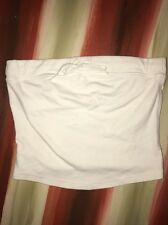 EXPRESS WOMEN'S SIZE SMALL WHITE TUBE TOP  ** SUMMER READY **