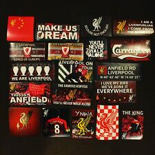 95 x Liverpool Ultras Sticker Kit Pack Set Anfield YNWA Kop LFC Gerrard Flags