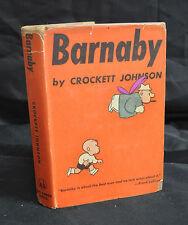 """""""Barnaby"""" - Crockett Johnson - Rare! DJ 1943 - (Grade """"VG+)WH"""