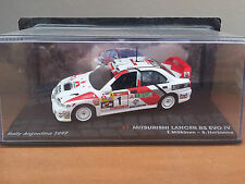 "DIE CAST "" MITSUBISHI LANCER RS EVO IV RALLY ARGENTINA 1997 "" SCALA 1/43"