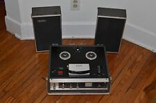 vintage reel to reel tape recorder Sony Sterecorder Solid State Stereo model 200