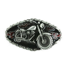 Senmi Belt Buckle Flame Biker Motorcycle Chain Unique Metal New Hip Cool Punk