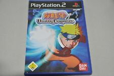 Playstation 2 Spiel - Naruto Uzumaki Chronicles Bandai -komplett Deutsch PS2 OVP