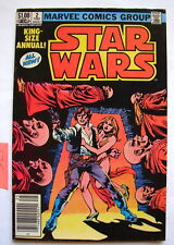 STAR WARS Marvel comic book King Size Annual #2  70's 80's VINTAGE  COMICS  716