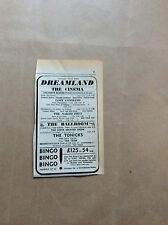 H1-1 ephemera 1967 advert dreamland margate the naked prey tonicks