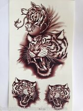 Men/Boys Large Sheet Temporary tattoos Can Use For Decoration Plastic Glass