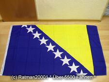 Fahnen Flagge Bosnien Herzegovina Neu Sonderposten - 90 x 150 cm