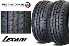 """2 X New """"Lexani"""" LXHT-106 P265/70R17 113T All Season Performance SUV Truck Tires"""
