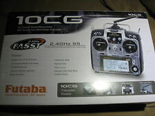 New Futaba 10CA 10CG 2.4GHz  Air Radio Mode 2 w/ R6014HS Receiver FUTK9255