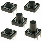 12x12mm Momentary Tactile Push Button Switch PCB Mounted SPST