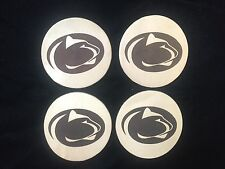 Engraved PSU Leather Coasters Penn State University - PSU Gifts