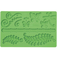 Wilton Fern Fondant and Gum Paste Mold Mould Sugarcraft Cake Decorating