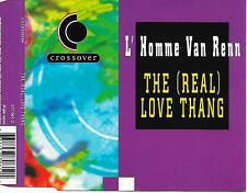 L' HOMME VAN RENN - The (real) love thang CDM 3TR House 1995 (CROSSOVER) Holland