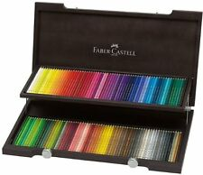 Faber-Castell Polychromos Colour Pencil Wood Case 120 Colours Professional