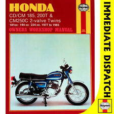 [0572] Honda CD185T CT200T inc Twinstar 2-Valve Twins 1977-85 Haynes Workshop Ma