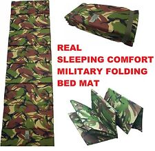 HIGHLANDER SCOTLAND FOREST CAMO DPM SAS SF FOLDING Z SLEEPING MAT/ ROLL BAG CAMP