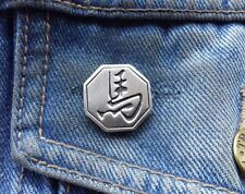 Chinese Year of the Horse Pewter Pin Badge