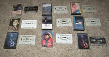 "Willie Nelson (12) CASSETTE LOT ""Troublemaker, Angel Eyes, Wonderful, Rainbow"""