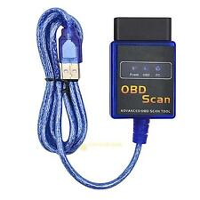 Car Vehicles ELM327 V2.1 ODB2 II Scan Detection Fuel USB Diagnostics Test Tool