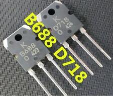 1pair(2pcs) 2SB688 & 2SD718 SANKEN Transistor B688 & D718 NEW