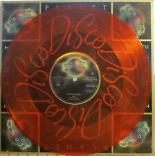"""► Pointer Sisters - 12"""" Fire (Bruce Springsteen) b/w Happiness (orange vinyl) (P"""