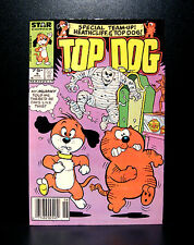 COMICS: Marvel: Top Dog #9 (1986) - RARE (heathcliff/thor/avengers)