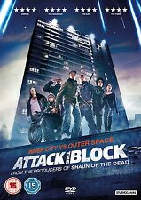 ATTACK THE BLOCK - DVD - REGION 2 UK