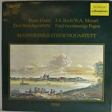 """MANNHEIMER STREICHQUARTETT - FRANZ DANZI  12""""  LP  (R219)"""