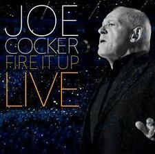 Fire It Up-Live von Joe Cocker, Limitierte Deluxe Edition (2013), 2 CD Set & DVD