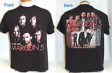 Maroon 5 2011 Train Tour T-Shirt Adam Levine Gavine DeGraw Size L